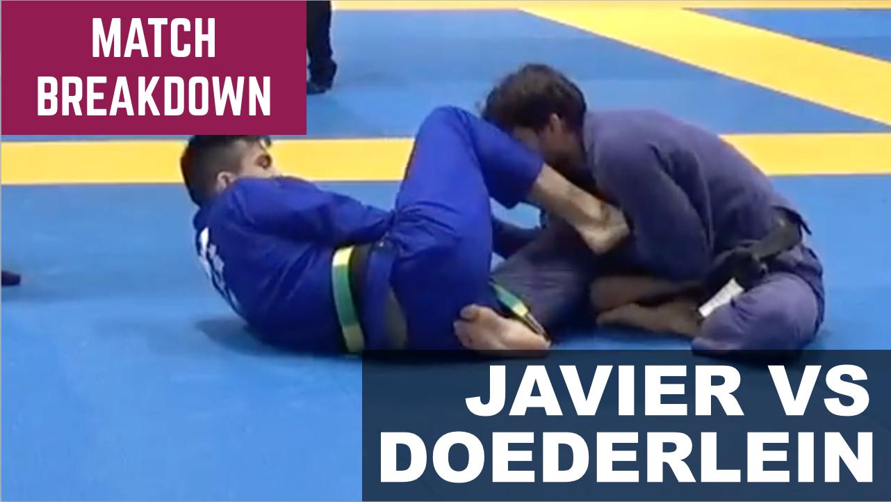 Match Breakdown: Isaac Doederlein vs Kevin Javier (2018)