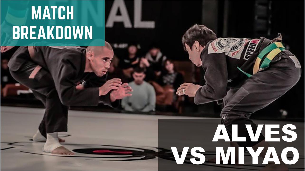 Match Breakdown: Jonatha Alves vs Paulo Miyao (2018)