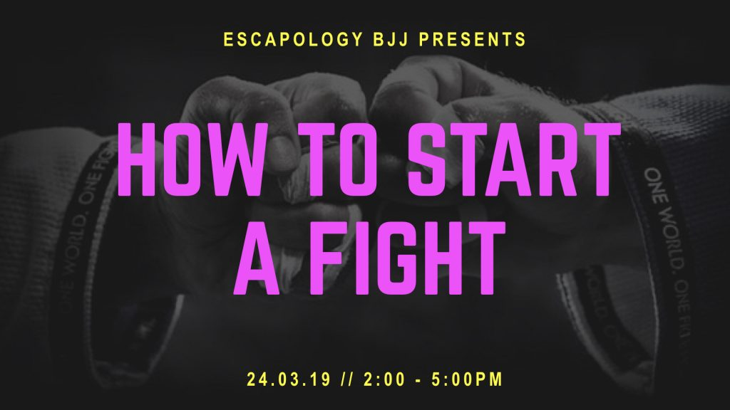 How To Start A Fight Seminar