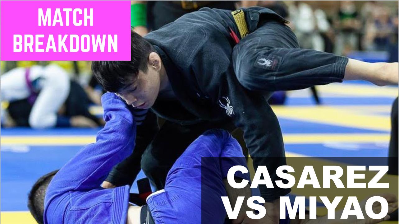 Match Breakdown: Joao Miyao vs Antonio Casarez (2019)