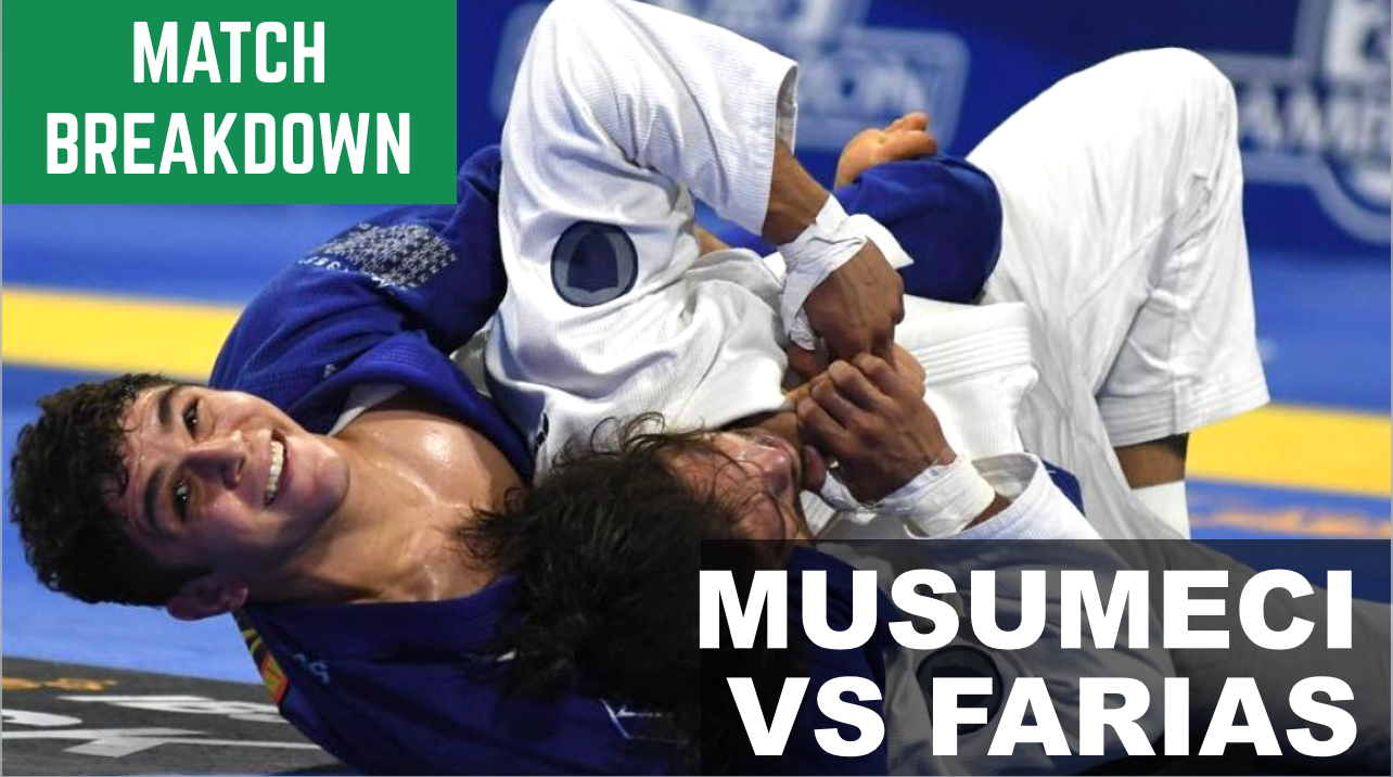 Match Breakdown: Mikey Musumeci vs Ary Farias (2018)