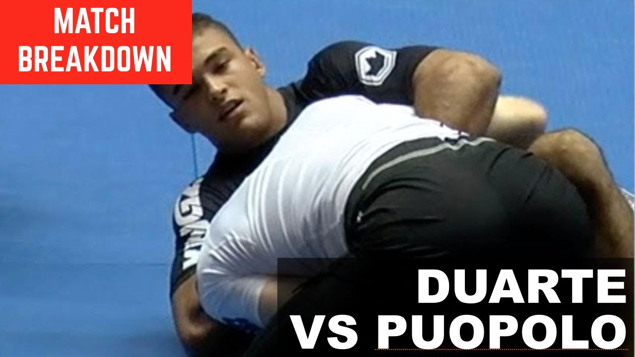 Match Breakdown: Kaynan Duarte vs James Puopolo (2018)