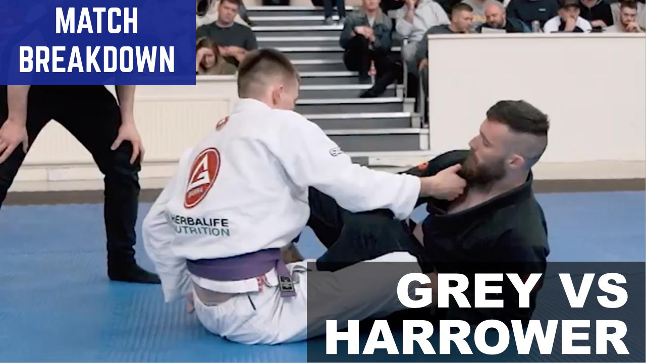 Match Breakdown: Steven Grey vs Ryan Harrower (2019)