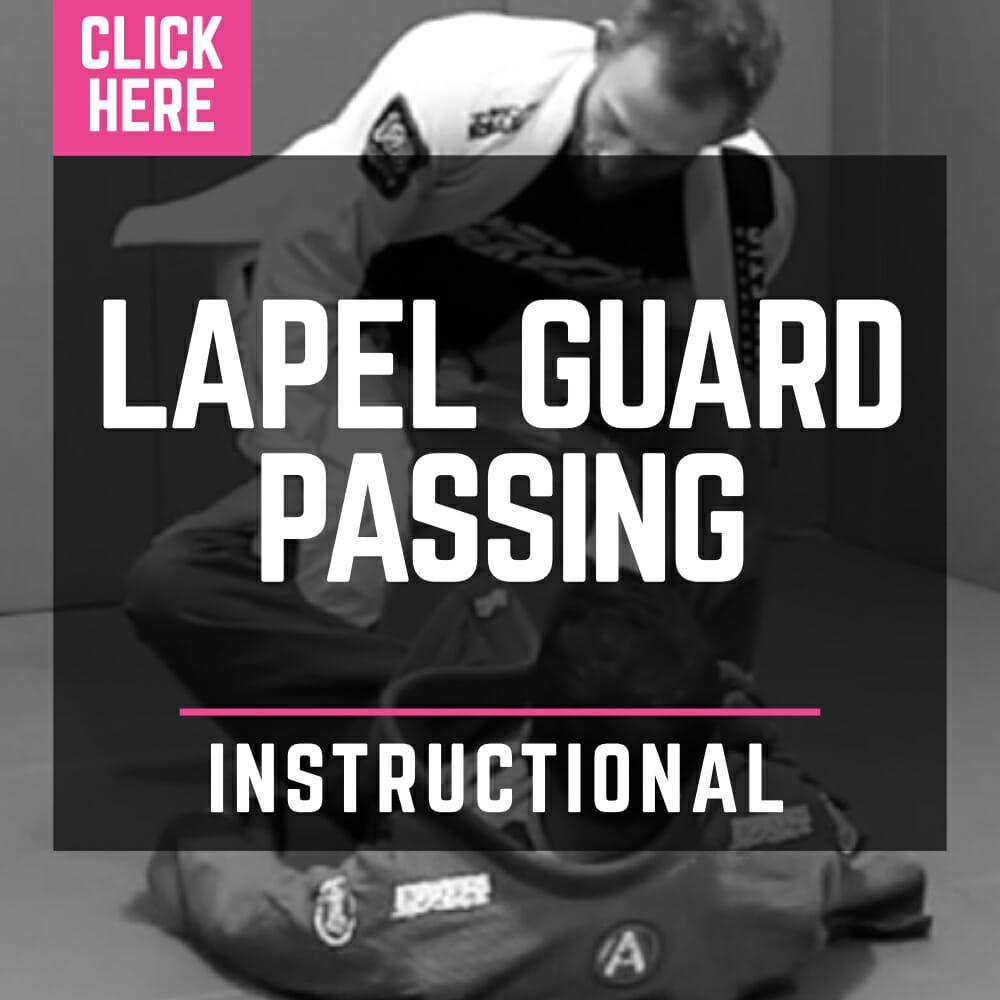 Lapel Guard Passing - Instructional